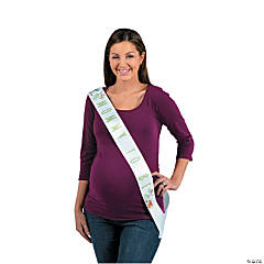 Woodland Party Mom-To-Be Sash