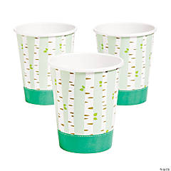 Woodland Party Paper Cups