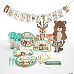 Woodland Tableware Kit for 16 Guests