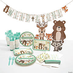 Woodland Tableware Kit for 24 Guests