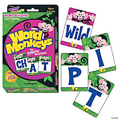 Word Monkeys™ Word Building Card Game - 2 sets