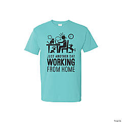Work from Home Adult's T-Shirt - Large