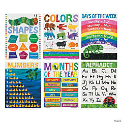 World of Eric Carle™ Basic Skills Posters