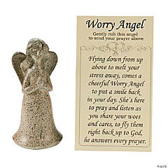 Worry Angel with Prayer Card