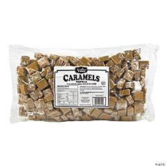 Wrapped Vanilla Milk Caramels, 5 lb