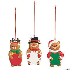 Write-a-Name Bear Ornaments