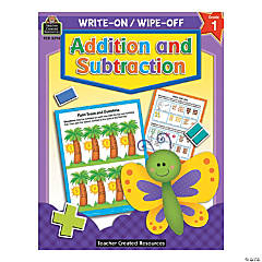 Write On, Wipe Off Addition and Subtraction Book