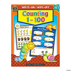 Write-On Wipe-Off Count to 100 Book