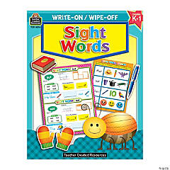 Write On, Wipe Off Sight Words Book