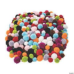 Yarn Pom-Pom Assortment