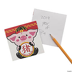 Year of the Pig Notepads