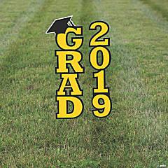 Yellow 2019 Grad Yard Signs