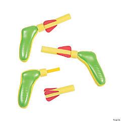 Yellow & Green Foam Dart Guns
