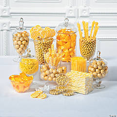 Yellow Candy Buffet Supplies