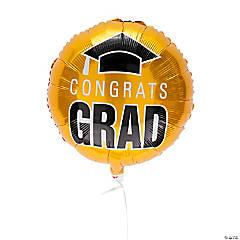 Yellow Congrats Grad 18