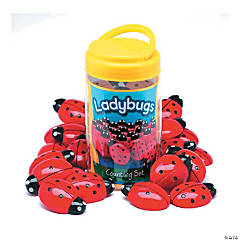 Yellow Door Ladybugs Counting Set, Pack of 22