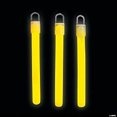 yellow glow sticks