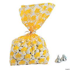 Yellow Graduation Cellophane Bags