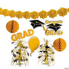 Yellow Graduation Decorating Kit