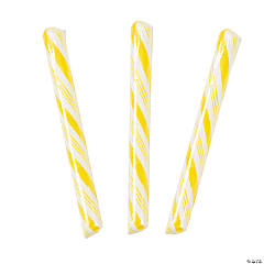 Yellow Hard Candy Sticks