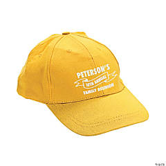 Yellow Personalized Family Tree Baseball Caps