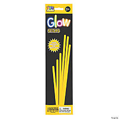 Yellow Preferred Glow Jewelry Sticks - 6 Pc.