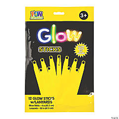 Yellow Preferred Glow Sticks - 12 Pc.