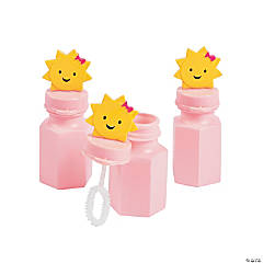 You Are My Sunshine Bubble Bottles