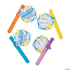 You Blew Me Away This Year Bubble Wand Kit - 12 Pc.