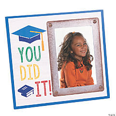 You Did It! Graduation Picture Frame
