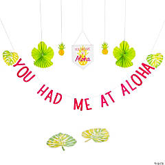 You Had Me At Aloha Luau Decorating Kit