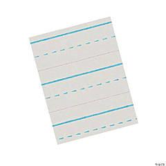 Zaner-Bloser Newsprint Handwriting Paper - Dotted Midline, 1/2