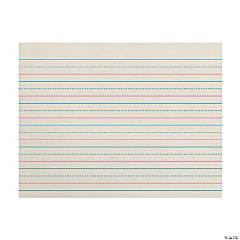 """Zaner-Bloser™ Newsprint Handwriting Paper, Dotted Midline, Grade K, 3/4"" x 3/8"" x 3/8"" Ruled Long, 10-1/2"" x 8"", 500 Sheets Per Pack, 3 Packs"""