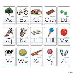 Zaner-Bloser Spanish Alphabet Cards