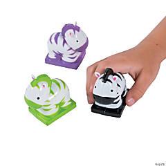 Zebra Pull-Back Toys