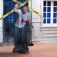 Zombie Cardboard Stand-Up Halloween Decoration