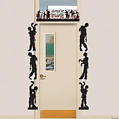 Zombie Door Border Halloween Decoration