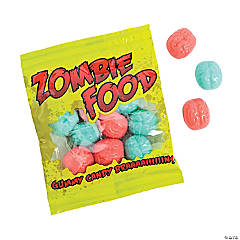 Zombie Food Gummy Candy Packs