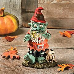 Zombie Gnome Halloween Decoration