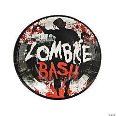 Zombie Party Paper Dinner Plates - 8 Ct.