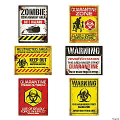 Zombie Poster Wall Decorations