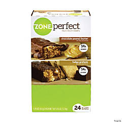 ZonePerfect Nutrition Bars Chocolate Peanut Butter & Fudge Graham, 1.58 oz, 24 Count