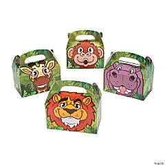Zoo Adventure Favor Boxes - 12 Pc.