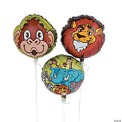 Zoo Adventure Mylar Balloons