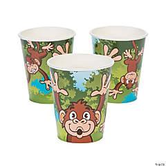 Zoo Adventure Paper Cups