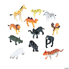 Zoo Animal Action Figures