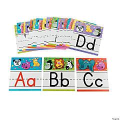 Zoo Animal Alphabet Letter Set