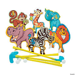 Zoo Animal Golf Set