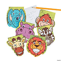 Zoo Animal Googly Eyes Notepads