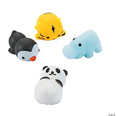 Zoo Animal Mochi Squishies